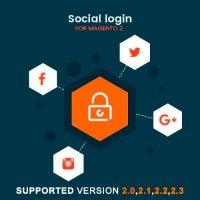 ماژول لاگین با شبکه های اجتماعی مجنتو