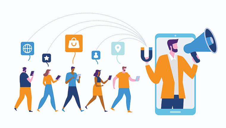 بلاگرها در شبکه های اجتماعی