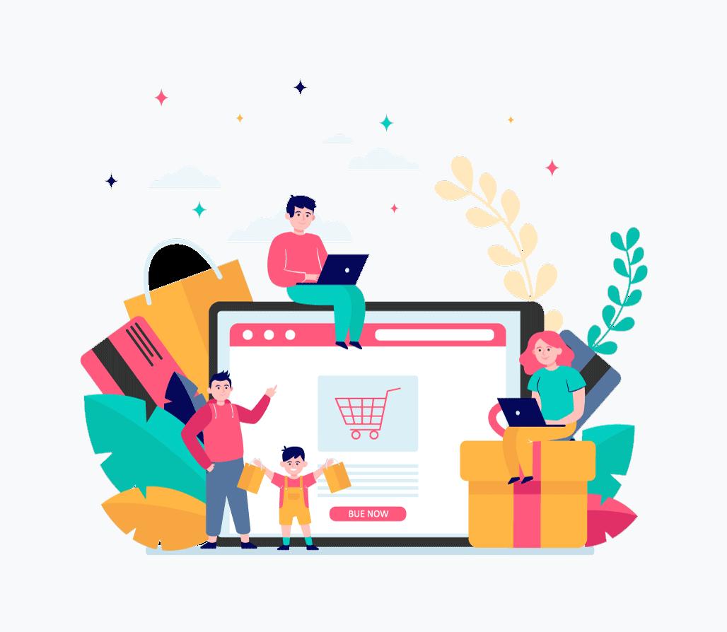 طراحی وب سایت فروشگاه رایگان